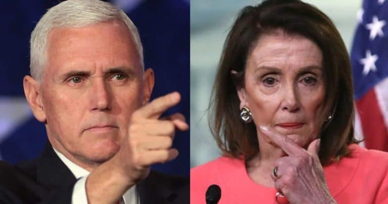 After Pelosi Pressures Pence To Use 25th Amendment House Republicans Just Shut Down Her Expedited Request