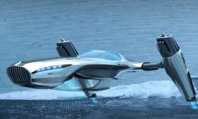 Scientists Have Created A Plane Similar to Start-Trek That Flies Using No Fuel