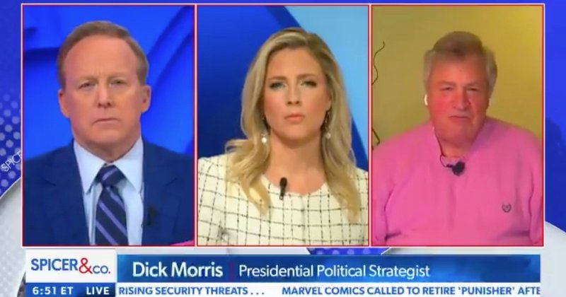 "WATCH: Dick Morris says Trump should invite the Bidens to the White House, calls it a ""good gesture"""