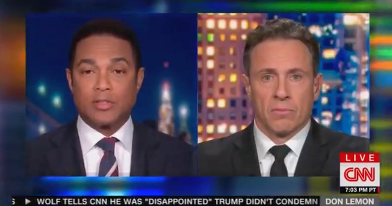 "Don Lemon: ""If you voted for Trump, you voted for the person who the Klan supported"""